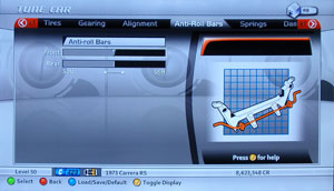 Forza Motorsport 2 Tuning - Anti-Roll Bar