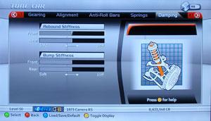 Forza Motorsport 2 Tuning - Damping