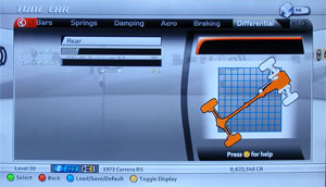 Forza Motorsport 2 Tuning - Differential