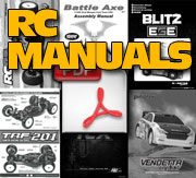 Free RC Manuals on CompetitionX