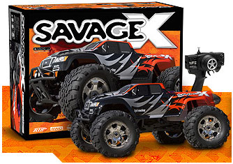 New to RC - HPI Savage RTR