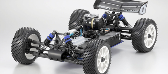 Kyosho America New DBX 2.0 - Chassis View