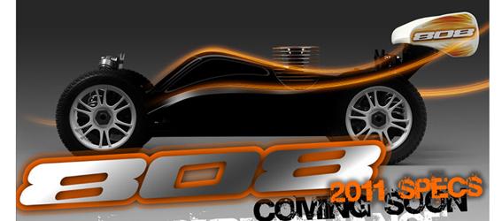 XRay 808 2011 Spec 1:8 Buggy