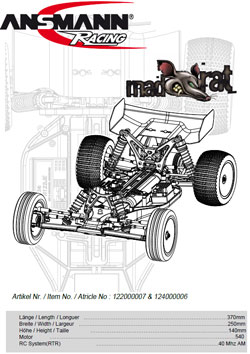 Ansmann Racing Manuals
