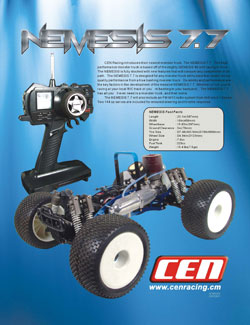 CEN Racing Manuals