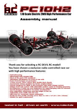 RC Devil Manuals