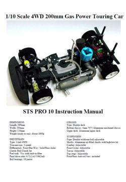 STS Racing Manuals