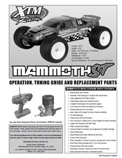 xtm racing manuals  competitionx