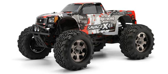 The HPI Savage X 4.6 With2.4GHz - Better Than Ever!