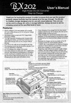 KO Propo Charger Manuals