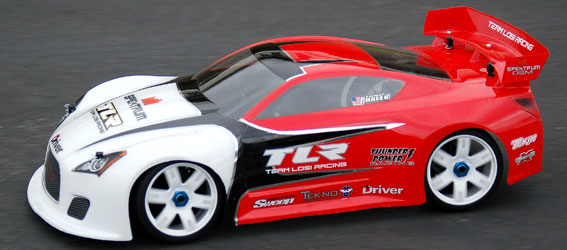 TLR L8ight Model - to - GT8 Conversion