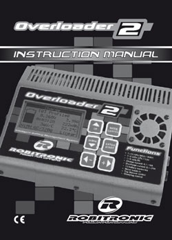 Robitronic Charger Manuals