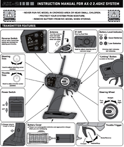 Axial Radio Gear Manuals