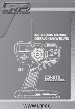 LRP Radio Gear Manuals