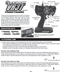 Venom Radio Gear Manuals