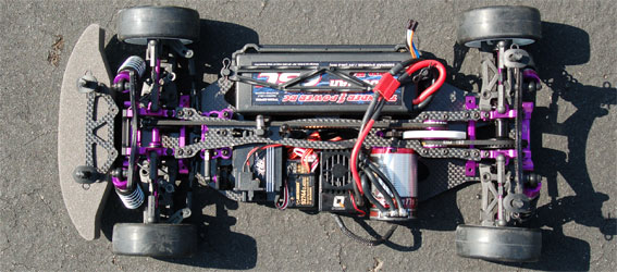Review: Hot Bodies TCX Chassis Shot