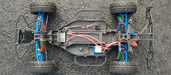 Project: SC10 On-Road Short Course Truck Chassis Shot