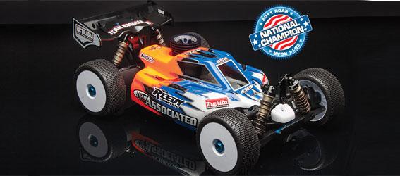 Team Associated RC8.2 Factory Team Buggy