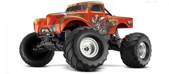 Traxxas Captain's Curse Monster Jam Monster Truck