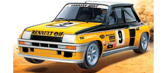 Tamiya Renault 5 Rally Turbo (M-05Ra)
