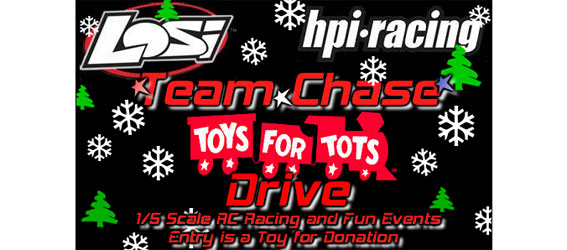Team Chase Toys 4 Tots Drive