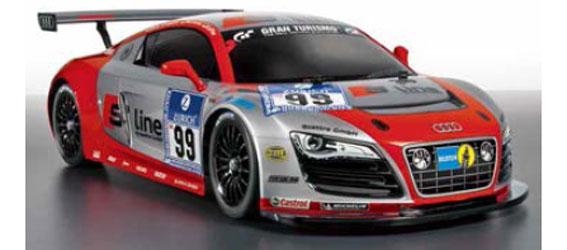 Tamiya Audi R8 LMS - 24h Nürburgring (TT-01 Type-E Chassis)