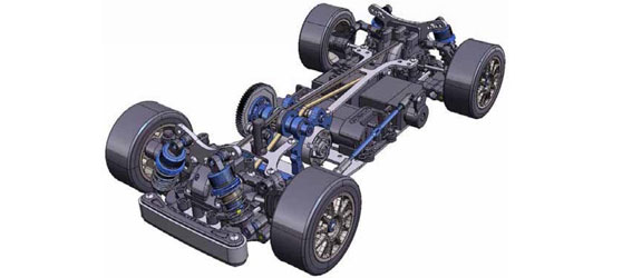 Tamiya TA05 M-Four Chassis Kit (LIMITED EDITION)
