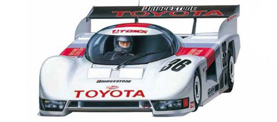 Tamiya Toyota Tom's 84C (RM-01 Chassis)