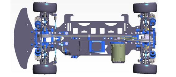 Tamiya TRF417X Touring Car