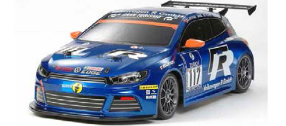 Tamiya Volkswagen Scirocco GT24-CNG (FF-03 Chassis)