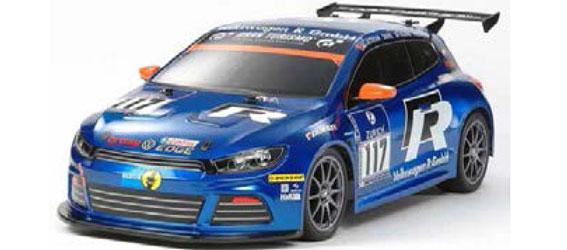 Tamiya Volkswagen Scirocco GT24-CNG (TT-01 Type-E Chassis)