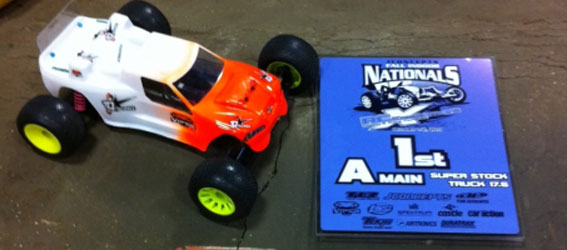 TQ Racing Wins at JC Fall Indoor Champs