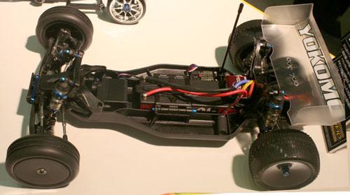 Yokomo B-Max2 2WD Buggy Chassis Shot