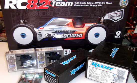 Team Associated RC8.2 Build