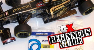 How To: Replace Your Tamiya F104X1 Bearings with Boca Bearings