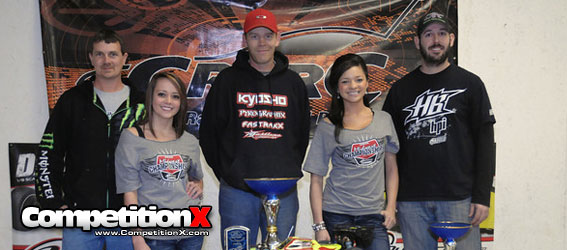 Dave Taylor and Tekno RC Win 25th Annual CRCRC Midwest Electric Champs