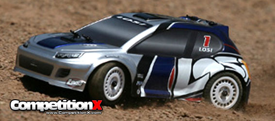 Losi 1/24 Brushless 4WD Rally Car RTR