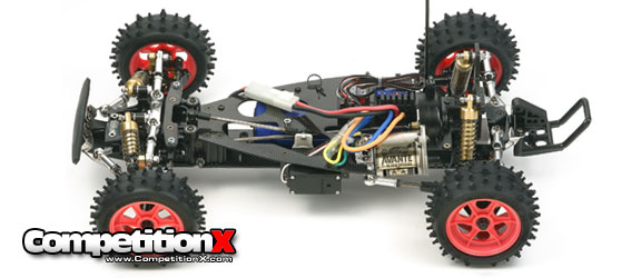 Tamiya Avante Black Edition Chassis Shot