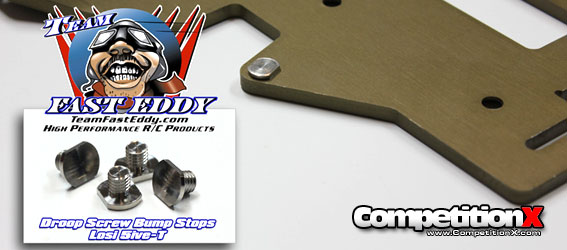 Team FastEddy Droop Screw Bump Stops for the Losi 5IVE-T