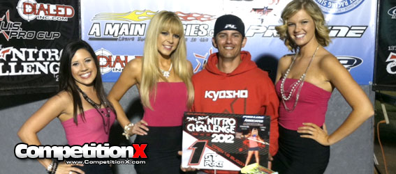 Kyosho Wins 1/8 Open Buggy at 2012 The Dirt Nitro Challenge
