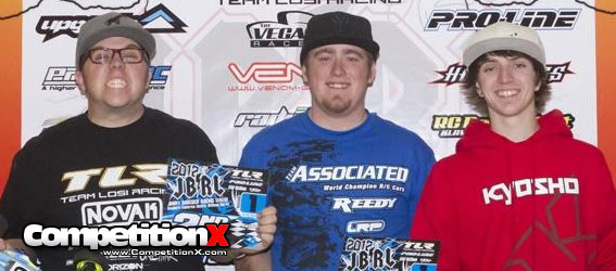Team Associated Takes Home 3 Wins at JBRL Electric R1