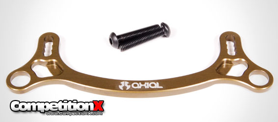 Axial EXO Terra Machined Aluminum Steering Rack (Hard Anodized)