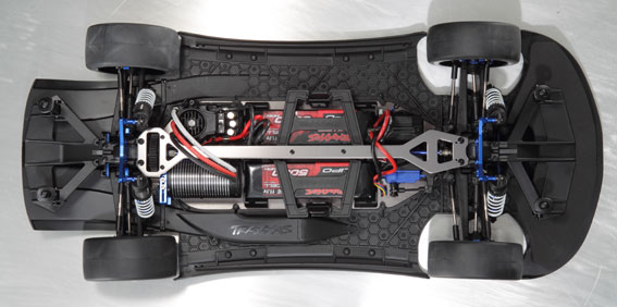 Review: Traxxas XO-1 Chassis Shot