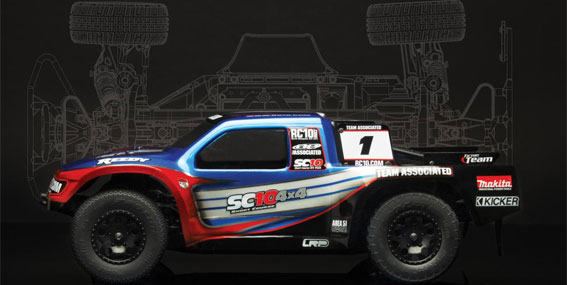 Team Associated Factory Team SC10 4x4 Build