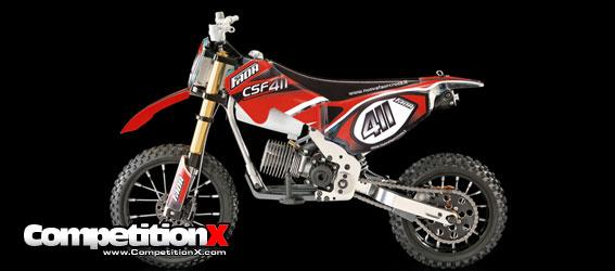 Nuova Faor Csf411 Nitro Powered Motorcycle