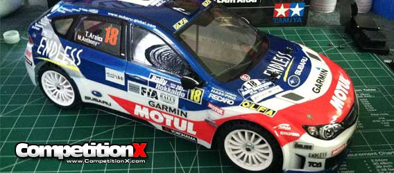 Tamiya XV-01 Rally Chassis – Be Prepared…