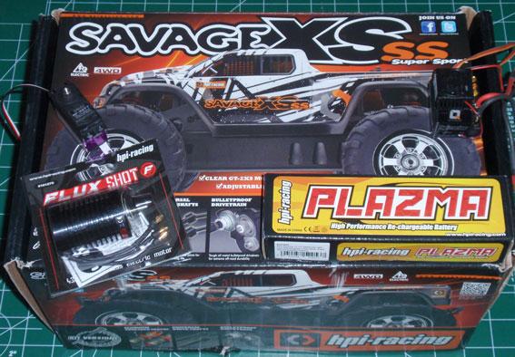 HPI Savage XS SS Build