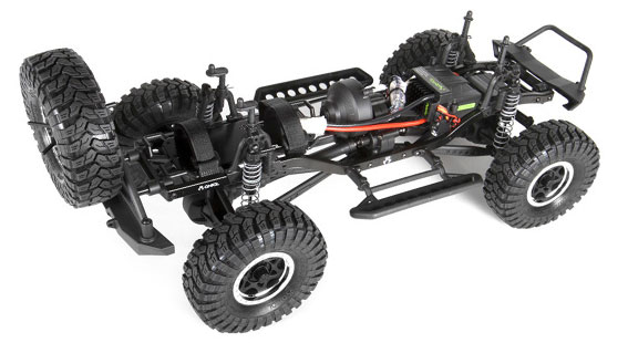 Review: Axial SCX10 Jeep Wrangler Unlimited Rubicon Chassis Shot