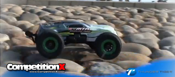 Video: Thunder Tiger 1/8 e-MTA Brushless 4WD Monster Truck