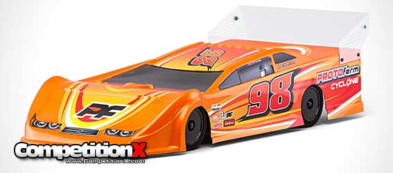 Protoform Cyclone 9.5 Dirt Oval Body